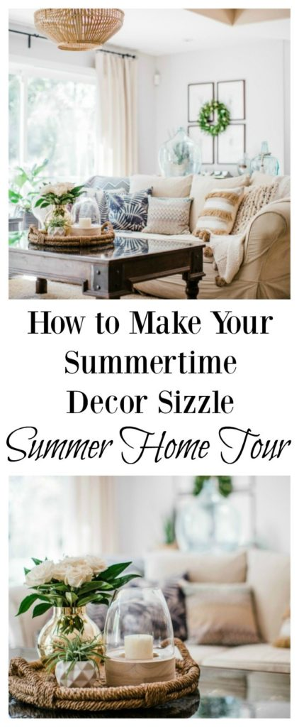 summertime decor summer home tour
