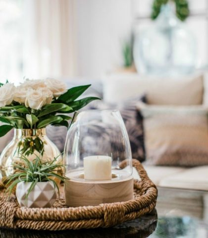 bring outdoors inside with summertime decor refresh