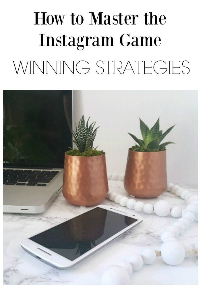 How to Master the Instagram Game Winning Strategies pin