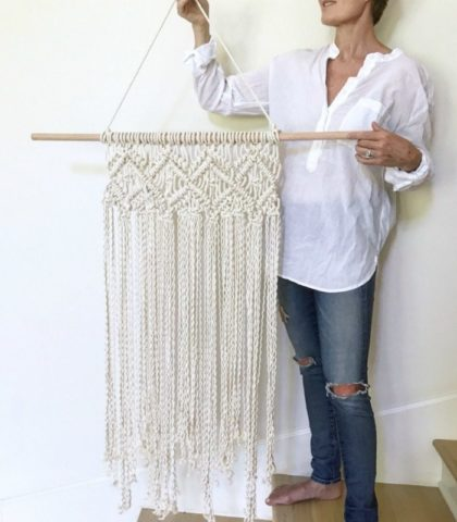 stunning macrame wall decor