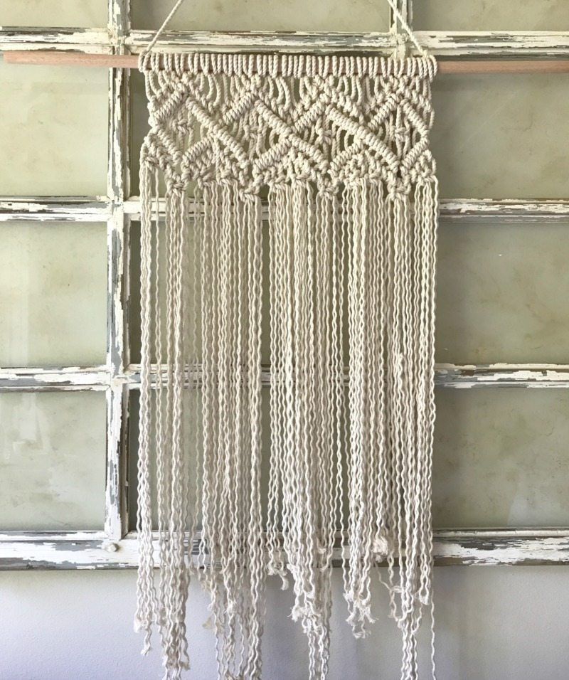 create stunning wallhanging