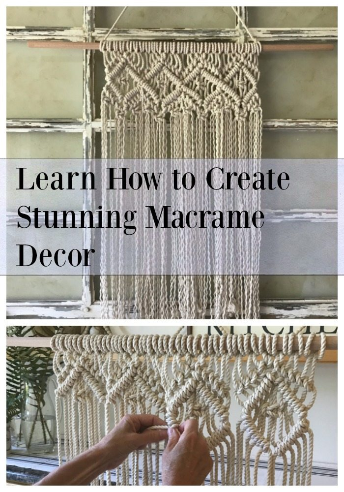 easy macrame diy project pin
