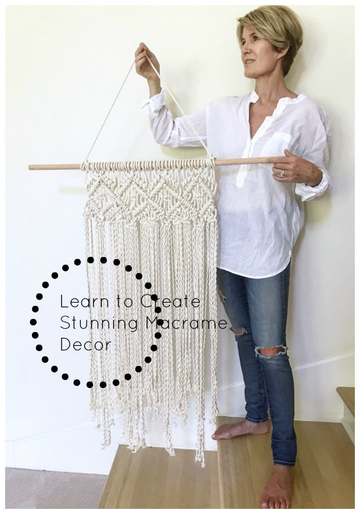 Learn how to make this beautiful wall hanging