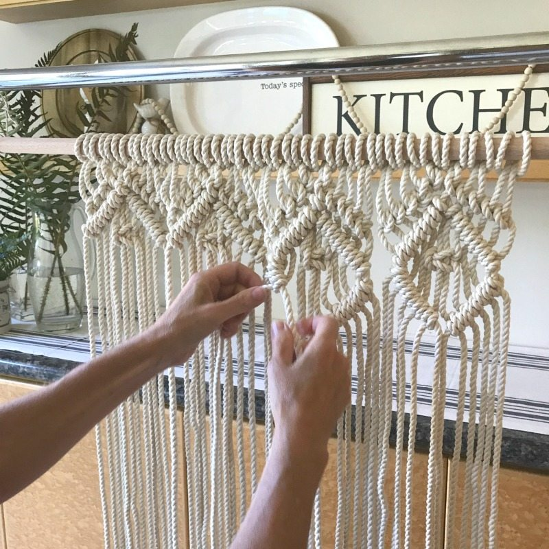 beginner macrame how-to