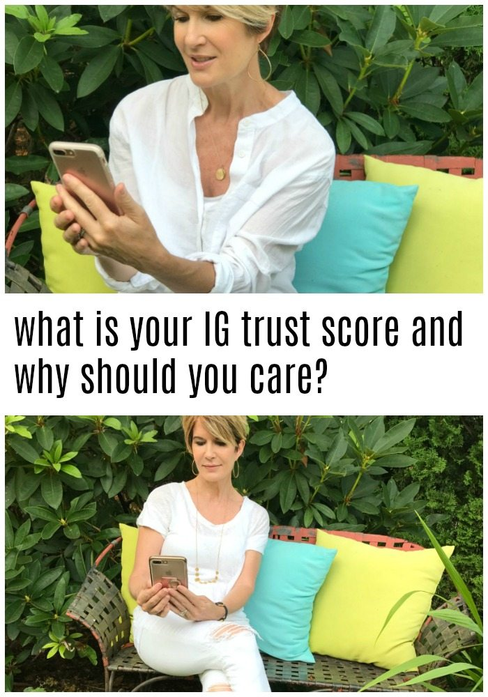 what is your instagram trust score