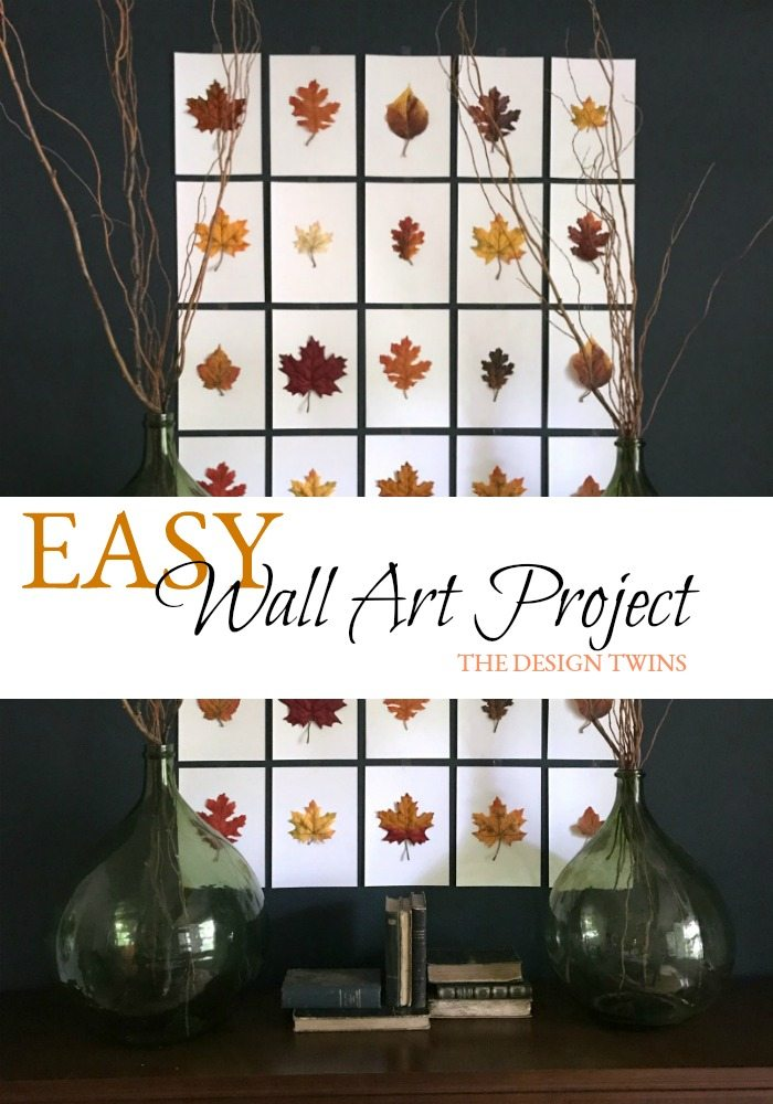 easy DIY wall art decor