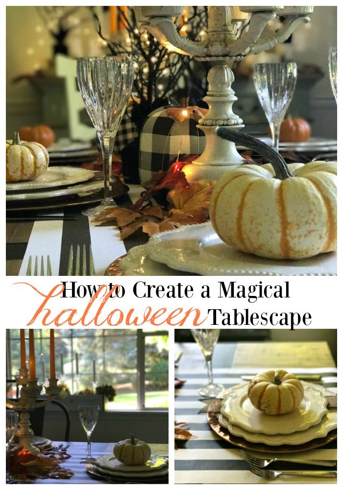 magical Halloween Tablescape