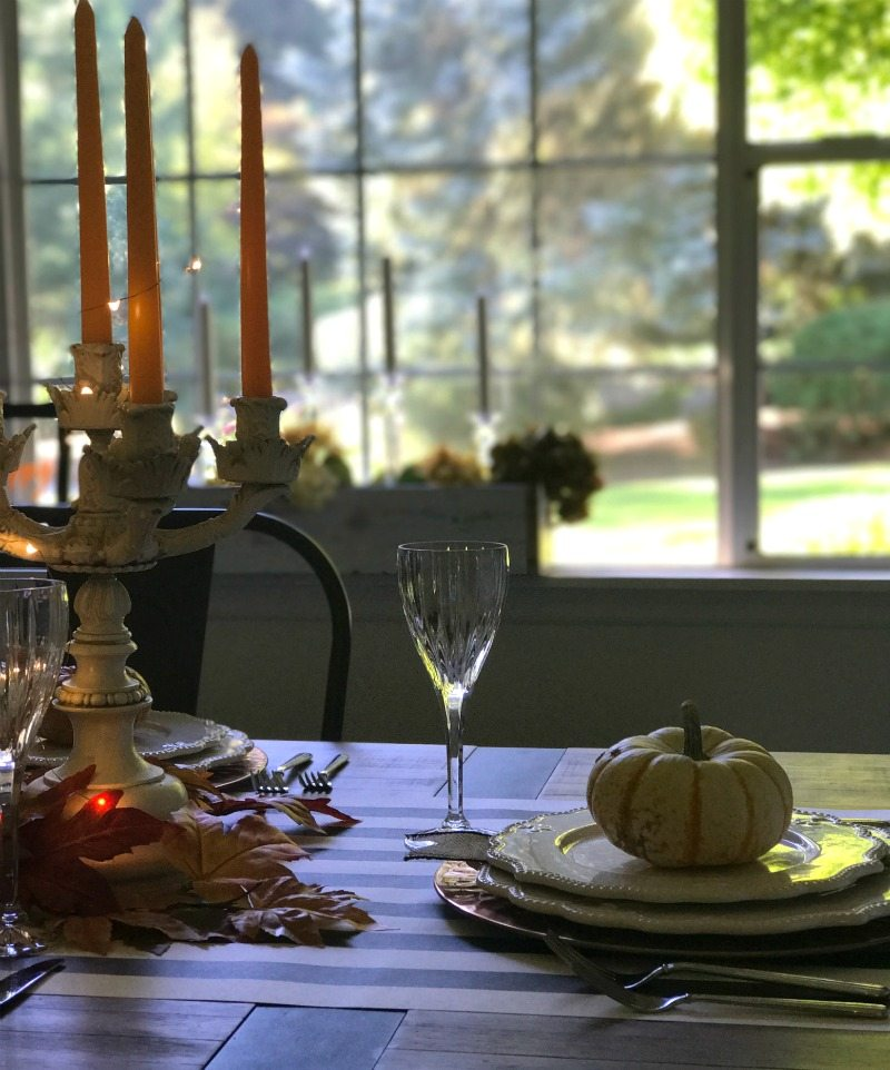 magical Halloween tablescape and decor