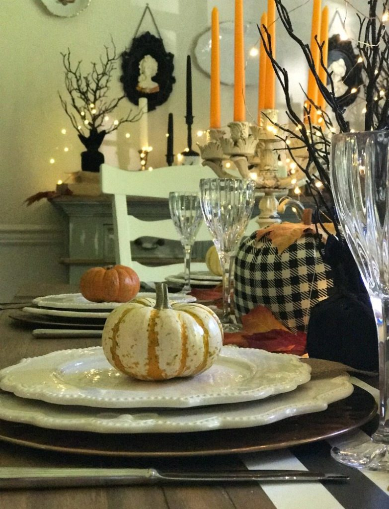 Create Halloween Tablescape fun