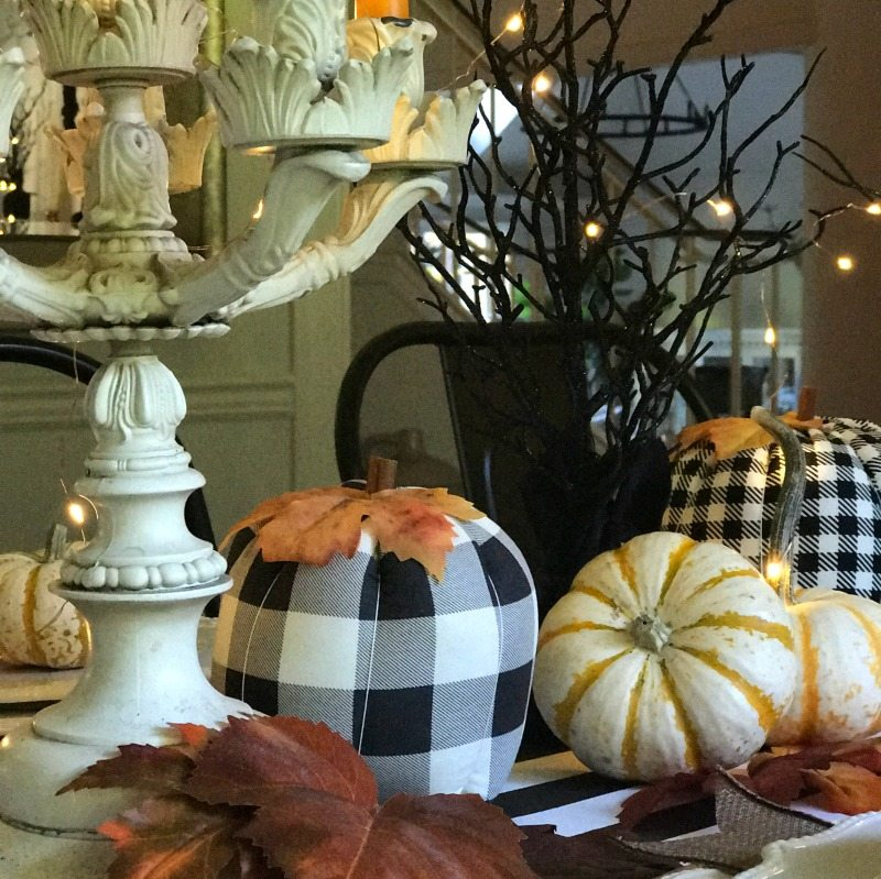 Magical Halloween tablescape decor
