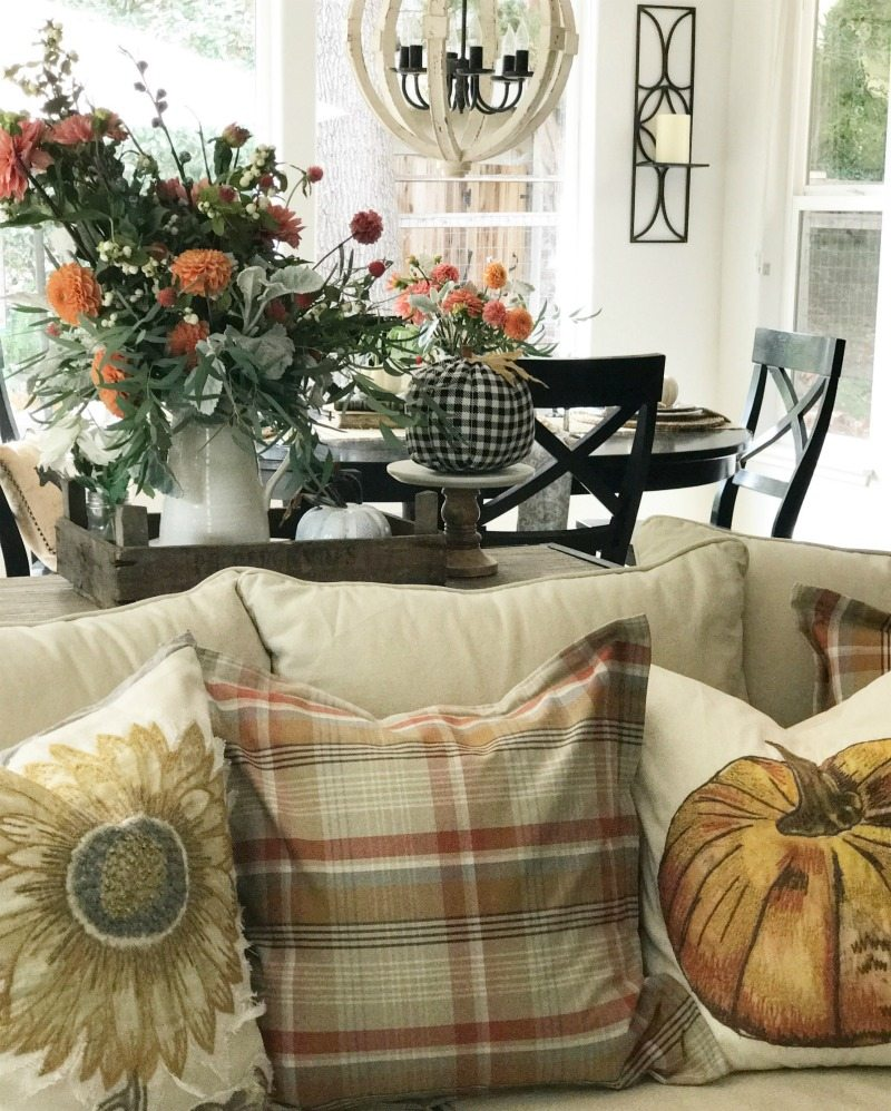 Fresh Fall Home Decorating Ideas Home Tour: Want 3 Fresh Ideas To Make Fall Decor Fabulous?
