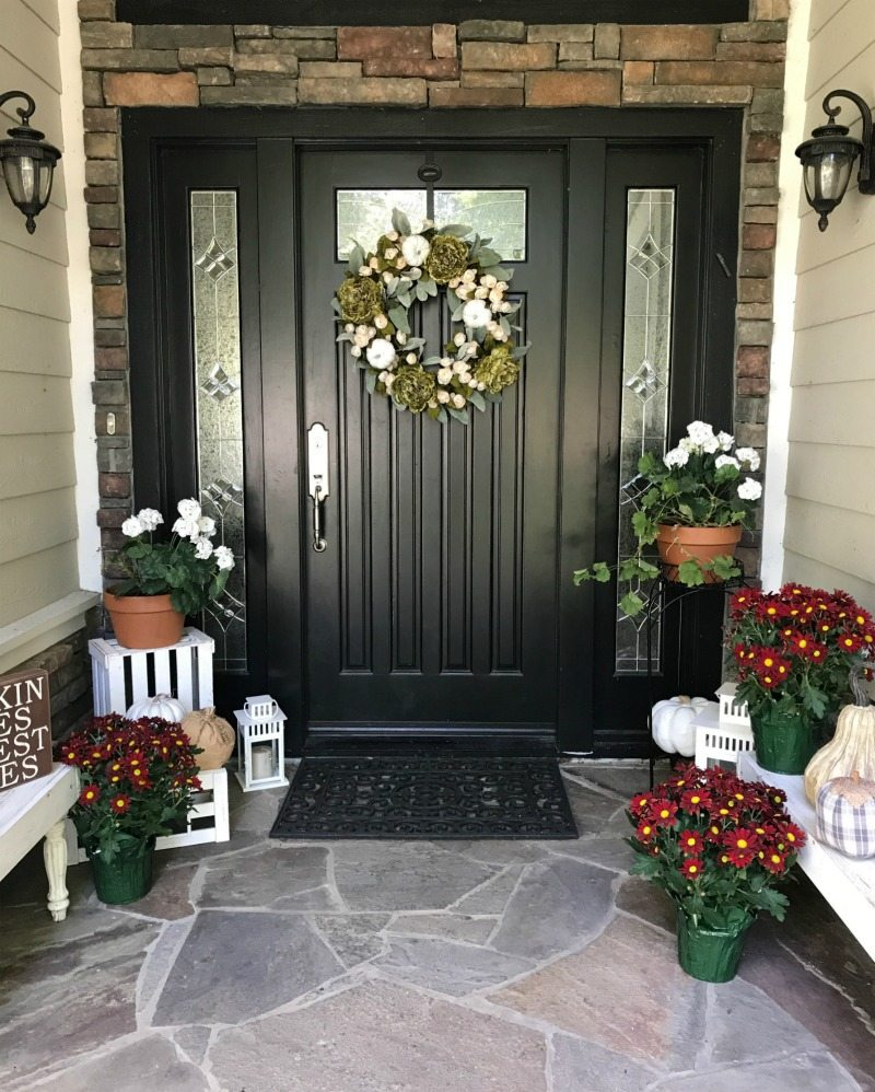 Front Porch Inspiration for Fall