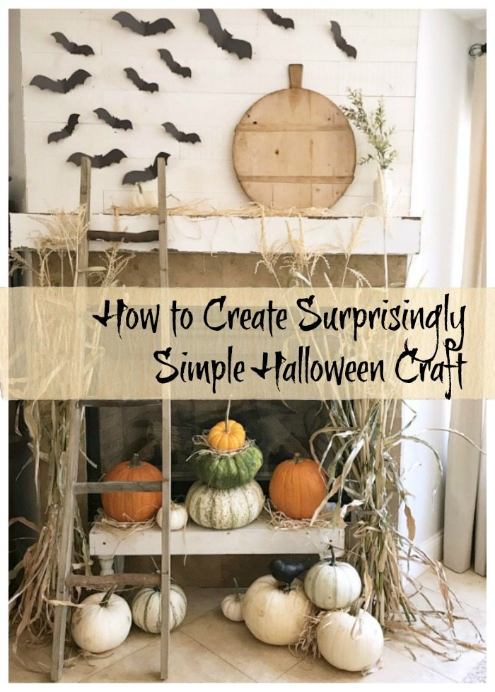 Kid-friendly simple halloween craft