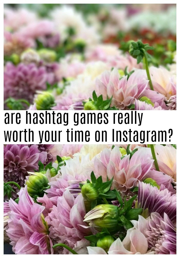 Instagram hashtag games
