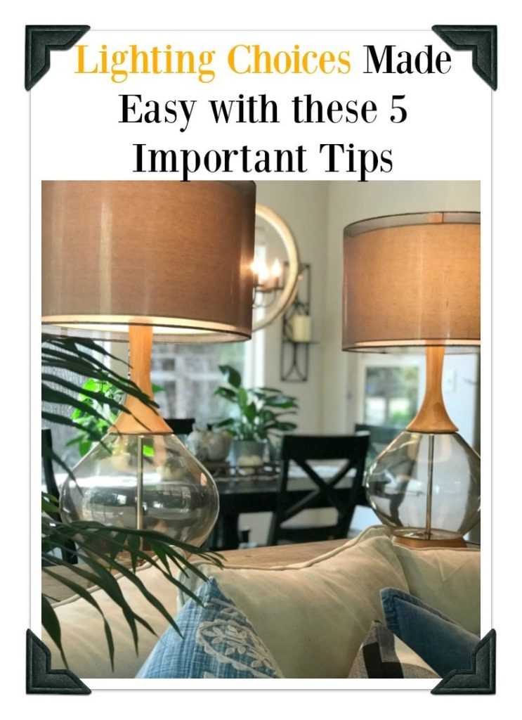 Lighting decor tips