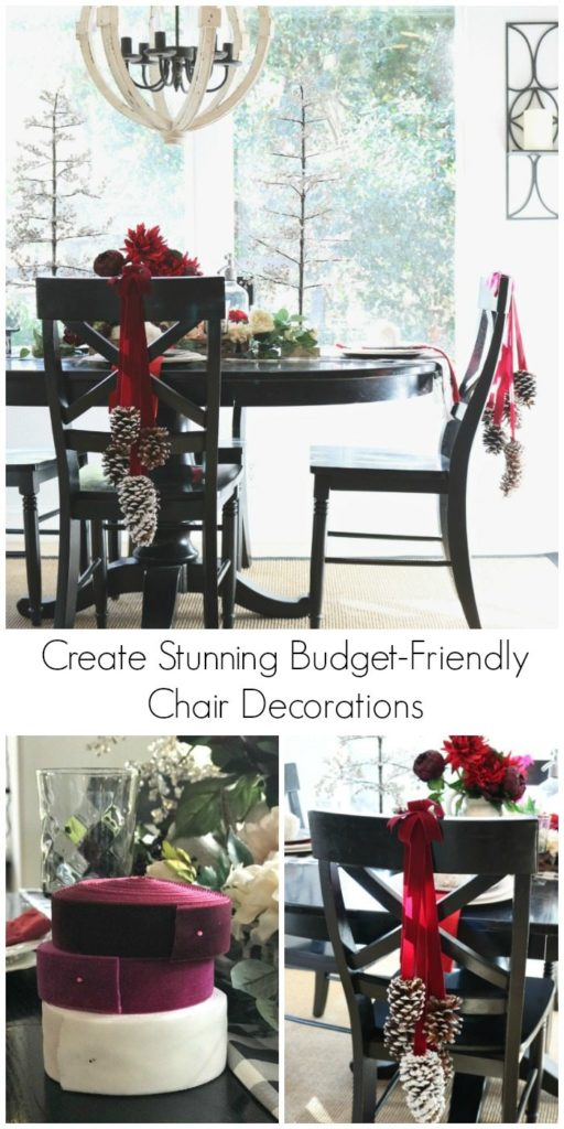 Create Stunning Budget-Friendly Chair Decorations pin