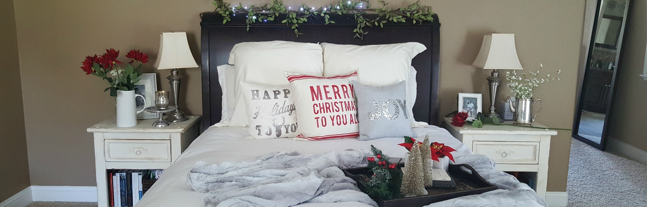 christmas bed closer