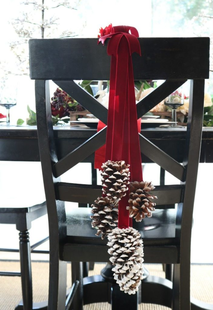 Stunning inexpensive holiday dining room decor