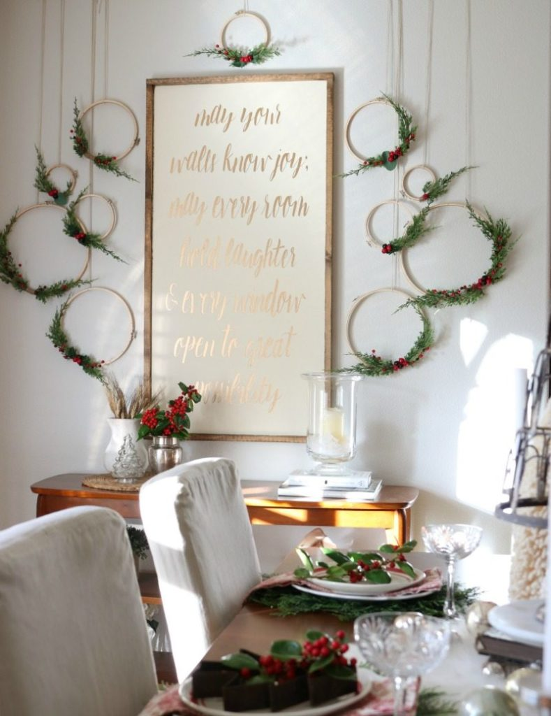 Design your perfect christmas dining room