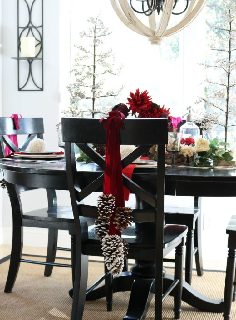 Inexpensive Chair Decorations for Christmas