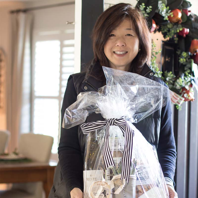 Holiday Hostess tips and gift basket ideas