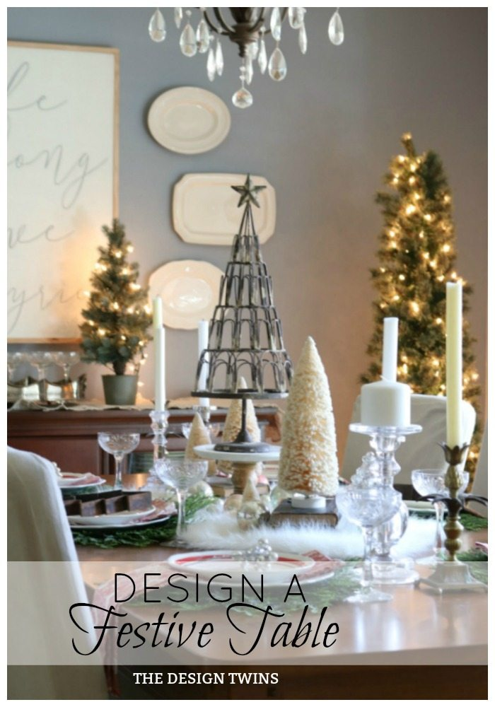 Design a Festive Table with The Design Twins pin