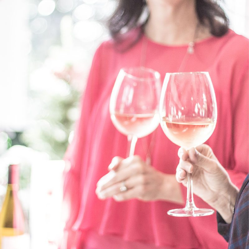 wente wines shared with good friends this holiday