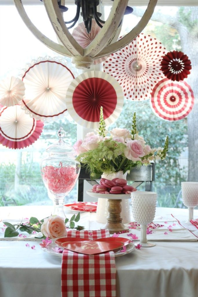 Budget Valentine's Day Decor