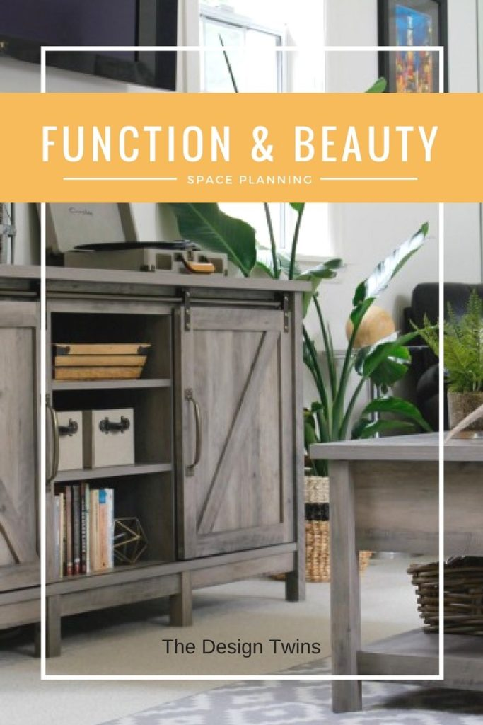 Functional Beauty space planning