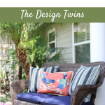 budget-friendly outdoor space with cozy seating