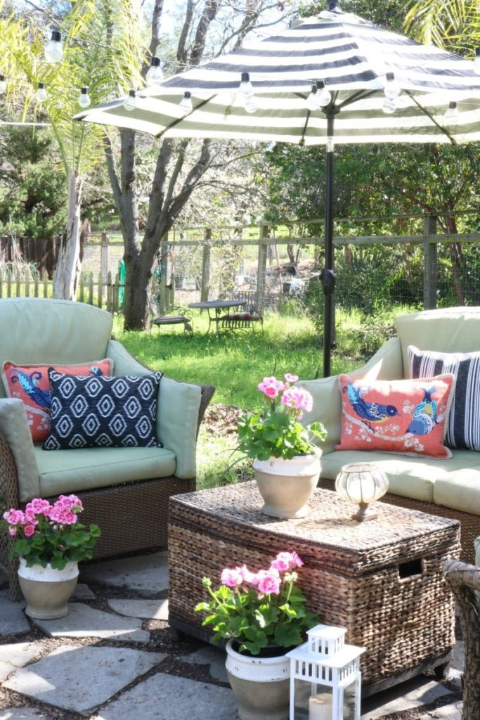 budget-friendly outdoor oasis