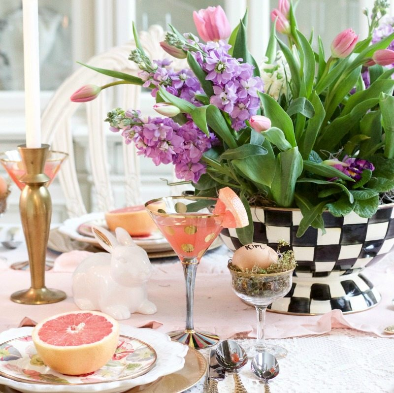 How to Create Stunning Spring Decor and More Linky Party