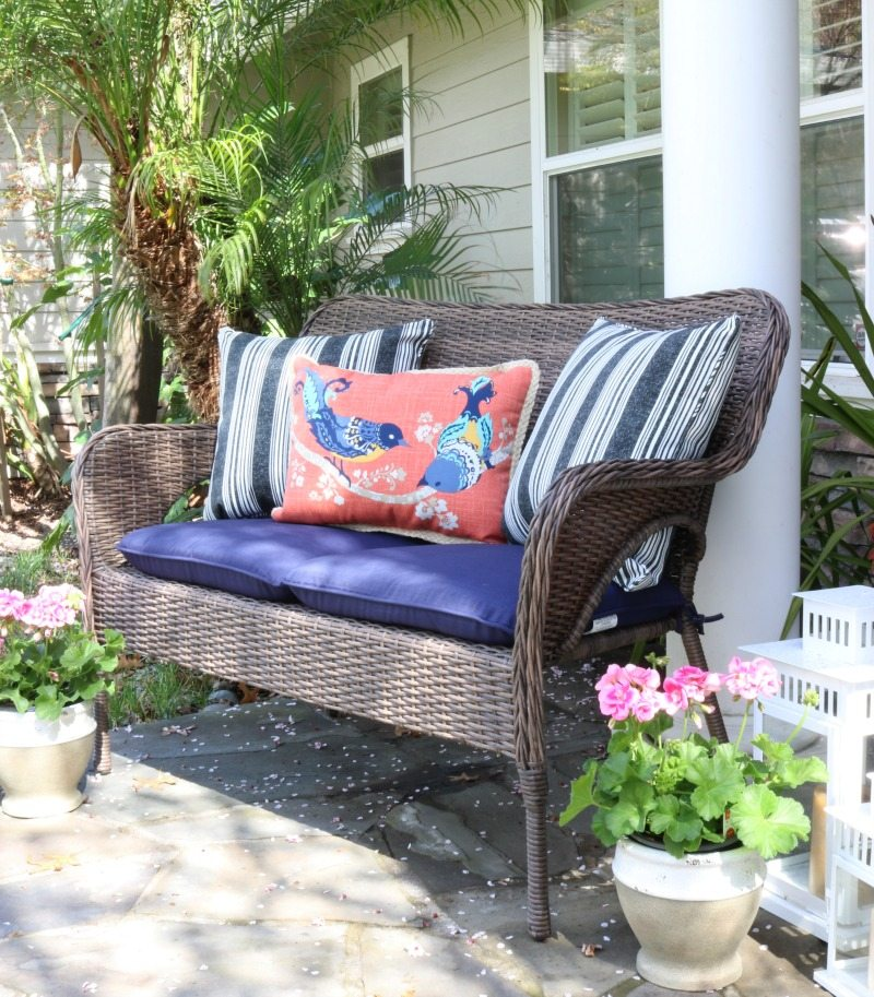 outdoor oasis on a budget