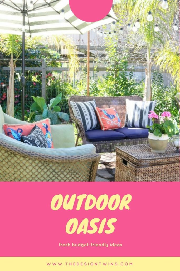 Budget Outdoor decor