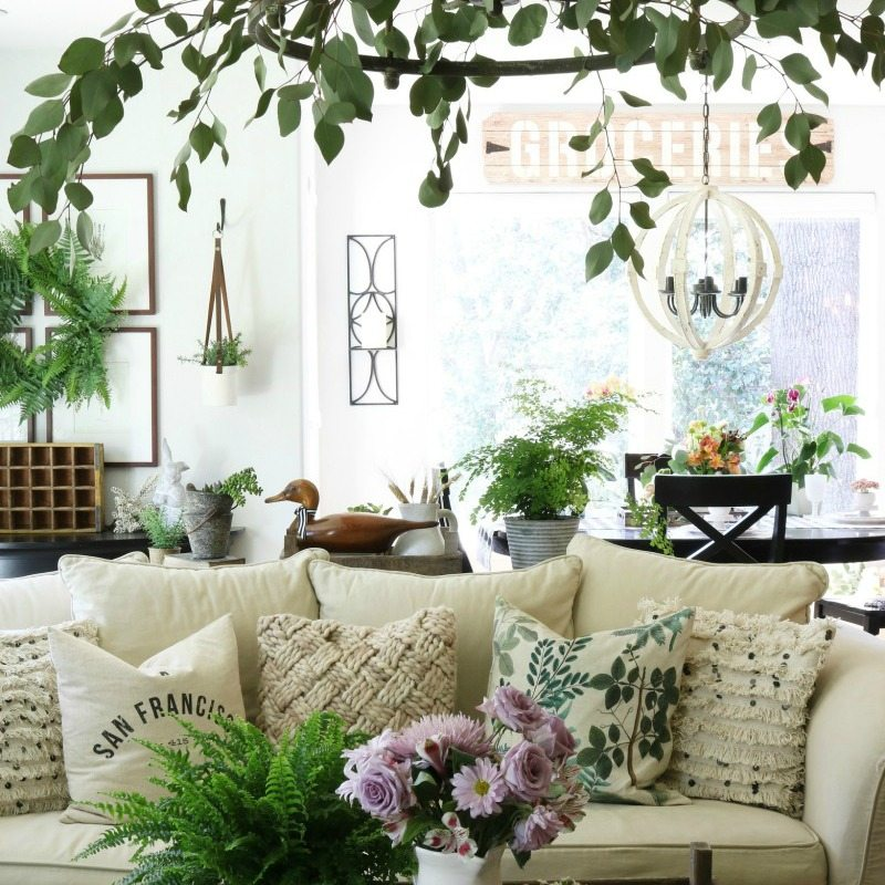 Our 8 Best Spring Decor Ideas Home Tour | The Design Twins