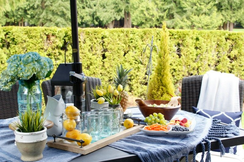 great ideas for outdoor entertaining
