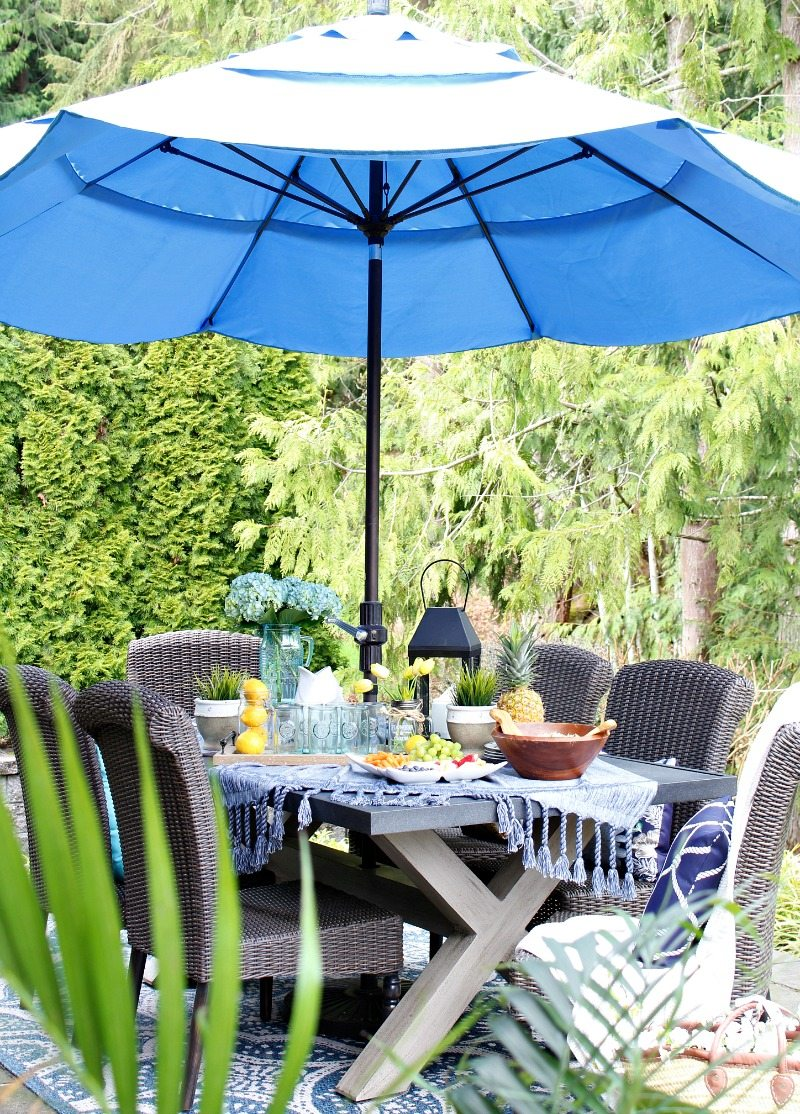 easy outdoor entertaining