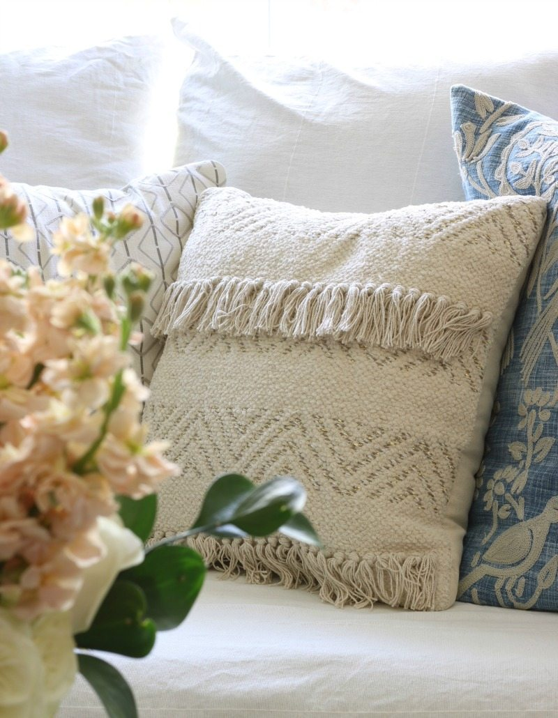 pillows and decorating
