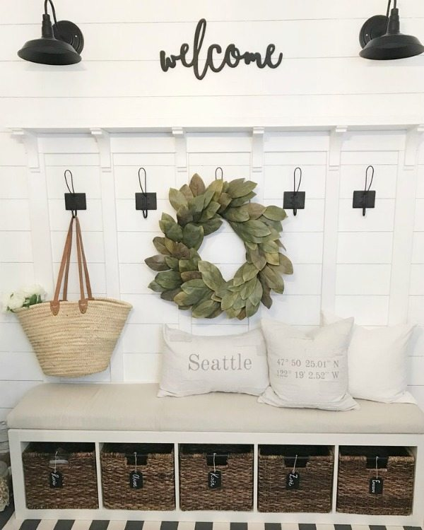 Mudroom DIY Ikea Hack