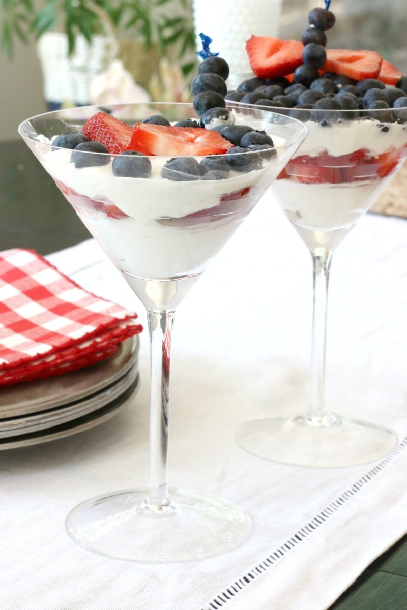 healthy desserts 4th of July