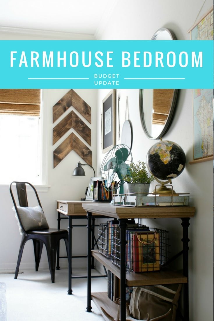 Farmhouse Bedroom update
