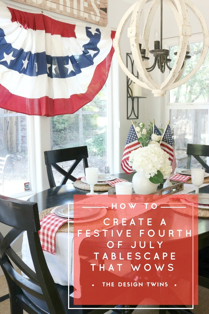 fourth of july tablescape pin
