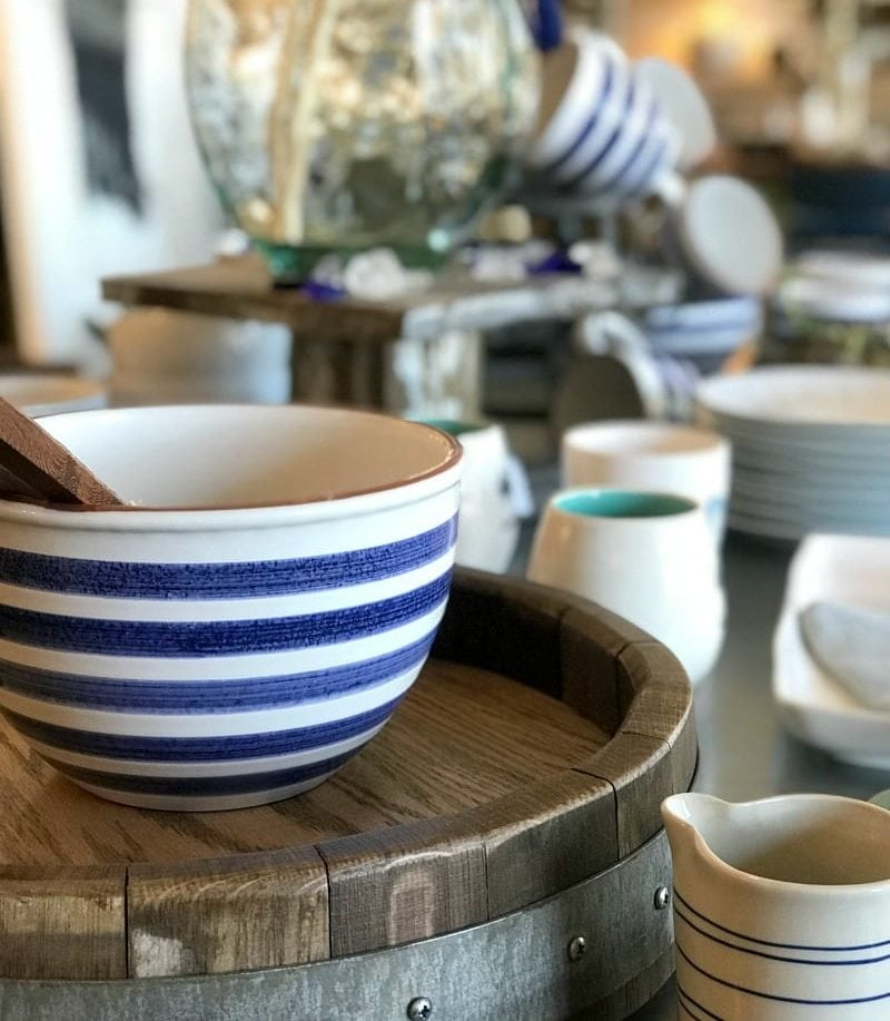 home decor store in Carmel, CA clementine and co has cute decor and bowls