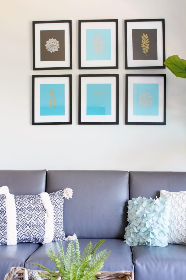 DIY Modern wall decor