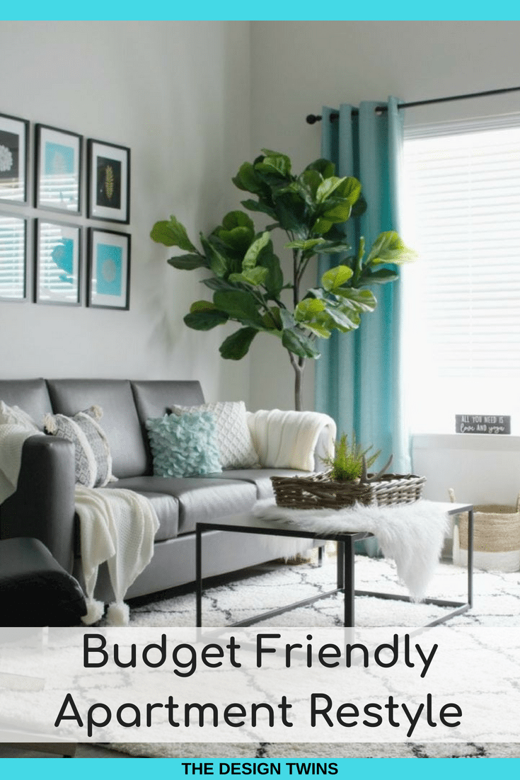 Budget modern apartment makeover
