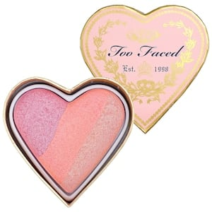 Too Faced makeup Heart Blush