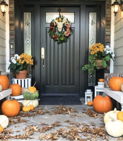 front door decor inspiration