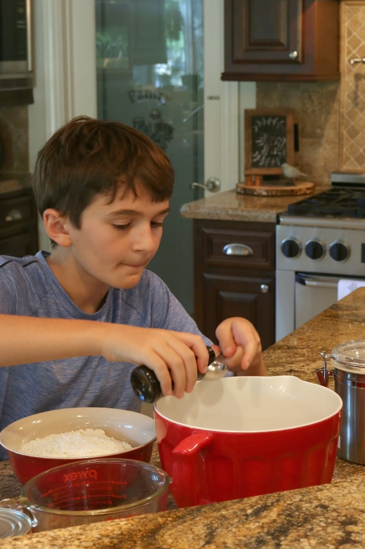 roan baking and measuring