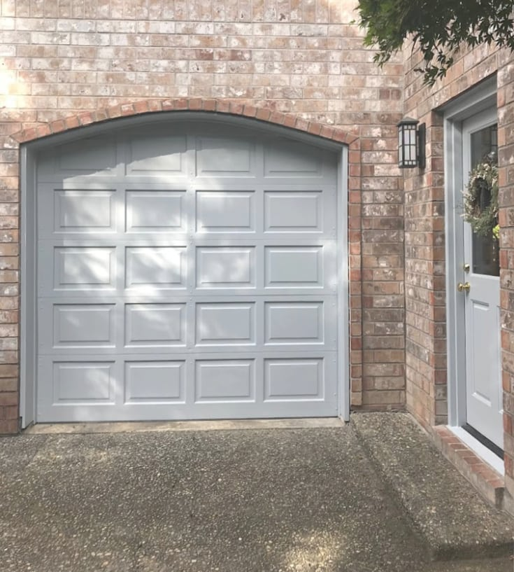 paint garage door pro tips