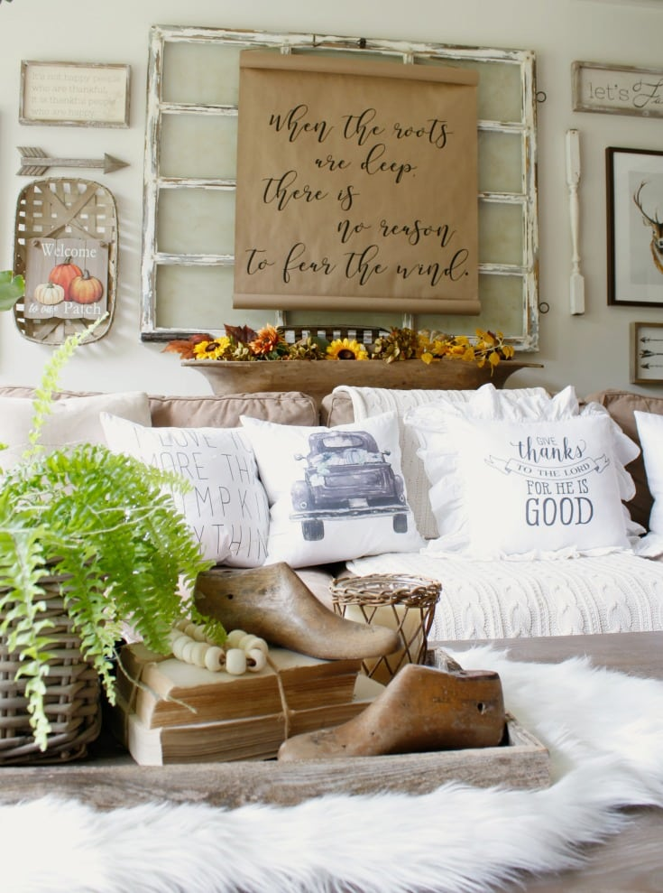 festive fall home farmhouse style